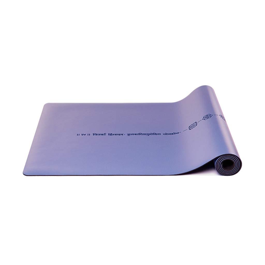 SPORTS Antideslizante Ejercicio Premium Yoga Mat Natural ...