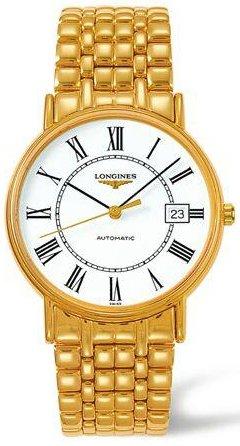Longines Transparent Watch (Longines Les Grandes Classiques Presence Automatic Transparent Case Back Men's Watch)
