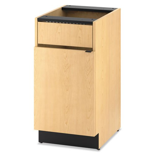 HON HPBC1F1D18D Hospitality Single Base Cabinet, Door/Access Panel, 18 x 24 x 36, Natural Maple