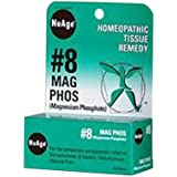 NuAge Homeopathic #8 Magnesium Phosphate Tablets, Natural Relief of Gastric Disturbances and Muscle Pain, 125 Count