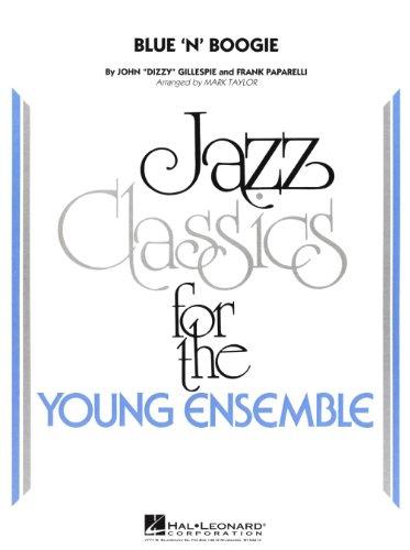 - Hal Leonard Blue 'N' Boogie Jazz Band Level 3 by Dizzy Gillespie Arranged by Mark Taylor