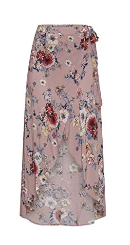 &harmony Wrap Skirt - Women's Wrap Maxi Skirt with Floral Print Summer Beach Wrap Skirt