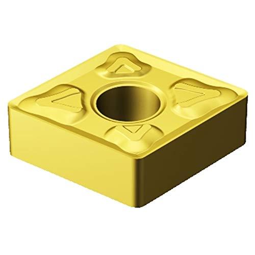 (Sandvik Coromant CNMG 431-XM 2015 T-Max P Insert for Turning, Carbide, Diamond 80 deg, Neutral Cut, 2015 Grade, Ti(C,N)+Al2O3+TiN (Pack of 10))