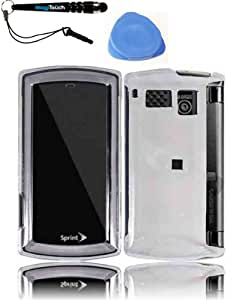 IMAGITOUCH(TM) 3-Item Combo Sanyo Incognito 6760 Transparent Cover - Clear (Stylus pen, Pry Tool, Phone Cover)