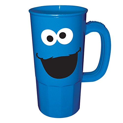 ICUP Sesame Street Cookie Monster Party Cup, 20-Ounce, Blue