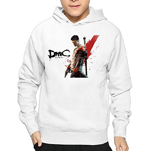 2016 For Man's Soft And New Style No Kangaroo Pockets Devil May Cry 4 Cool Hoodies T-shirts
