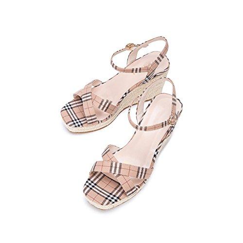 DHG Ocasionales de de de Punta S de Moda Mujer Zapatillas Planas Color Sandalias Dulces Sandalias Sandalias de Verano r4n1Rr