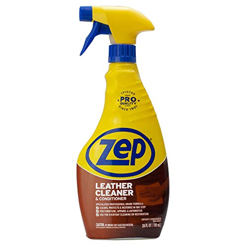 Zep Leather Cleaner and Conditioner 24 ounce ZUCLC24 (Best Smelling Leather Cleaner)