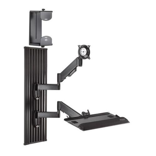 Chief Mfg. Workstation Series Wall Mount for Screens Finish: Black