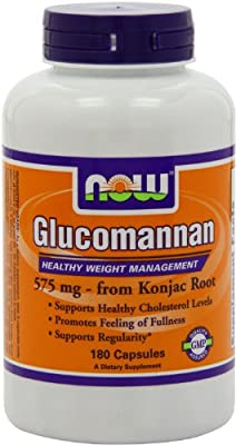 Now Foods Glucomannan 100% Pure Powder