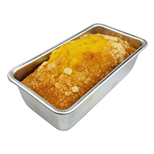 Kitchen Supply 7713 Toaster Oven Loaf Pan 7.5 X 3.75 X 2.25-Inch, 7.5-Inches x 3.75-Inches x 2.25-Inches by Kitchen Supply