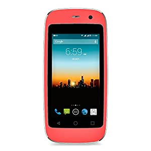 """POSH MOBILE MICRO X, The Smallest Smartphone in the World, ANDROID UNLOCKED 2.4"""" GSM SMARTPHONE with 2MP Camera and 4GB of Storage. 1 Year warranty. (MODEL#: S240 PINK)"""