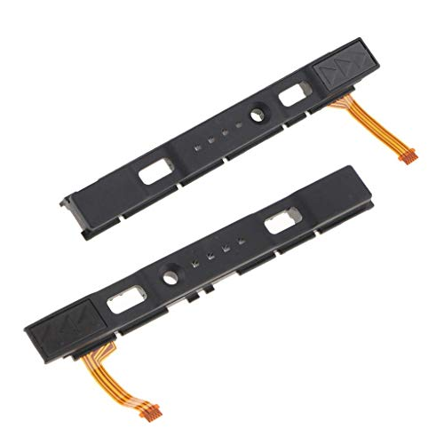 Cable Flex Sliding - 1 Pair External Button Left Right Sliding Rail with Flex Cable Replacement Parts Fit for Nintendo Switch NS Game Console