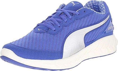 PUMA Women's Ignite Ultimate PWRCOOL WN'S Running Shoe, Dazzling Blue/Puma Silver, 6 B US