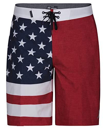 Hurley Apparel Men's Phantom Cheers USA Flag 20