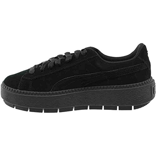 PUMA Women's Suede Platform Trace Sneakers Puma Black/Puma Black for nice online cheap sale marketable fashion Style sale online clearance wide range of iFmS4HkplL