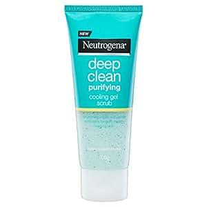 Neutrogena Deep Clean Purifying Cooling Gel Scrub, 100g