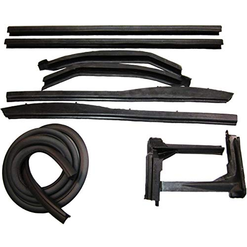 Steele Rubber Products - Convertible Roof Rail Kit - Sold and Priced as a Set - 50-0437-65
