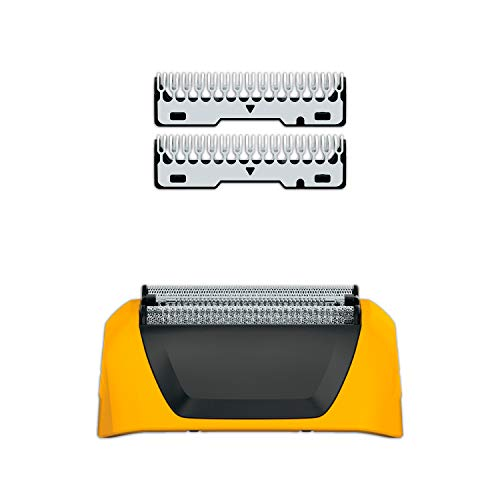 Replacement Foil Shaver - Wahl Yellow Lifeproof Shaver Replacement Foils, Cutters and Head for 7061 Series, #7045-100