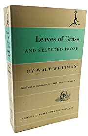 Leaves of grass, and selected prose (Modern…