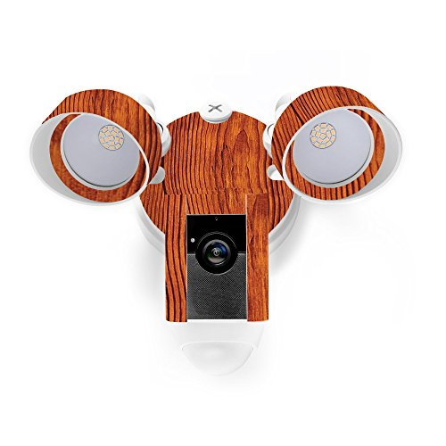 MightySkins Skin for Ring Floodlight Cam - Knotty Wood | Protective, Durable, and Unique Vinyl Decal wrap Cover | Easy to Apply, Remove, and Change Styles | Made in The USA