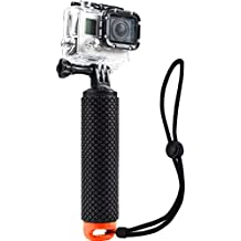 Waterproof Floating Hand Grip (Floating Pole & Handle & Diving Monopod & Floating Stick)compatible with all GoPro Cameras Hero 4 Session Black Silver Hero 2 3 3+ 4 5 (s1)