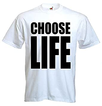 Choose Life T-shirt  Amazon.co.uk  Clothing 1e2b8cbaa