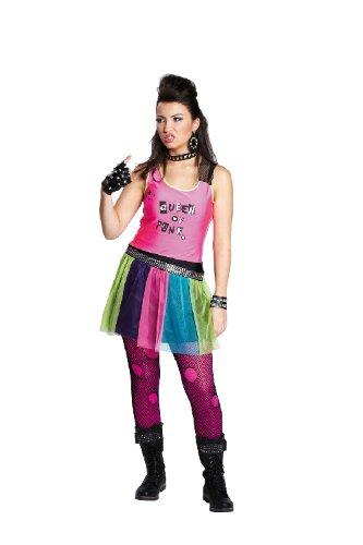 Verkleiden Kleid Als Girl Spielzeug 32 Punker Punk Damen Karneval Größe Kostüm nwq0S6anp