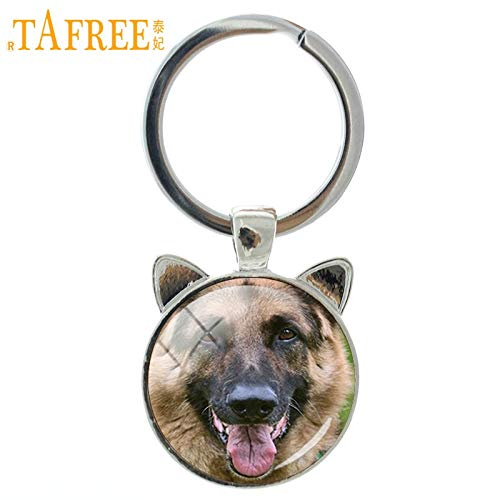 Amazon.com   Key Chains - German Shepherd Keychain Newest Trendy Key Chain  Keyring Car Bags Key Holders Men Women Dog Lover Presents Jewelry CN738 -  by ... a746b4ef0