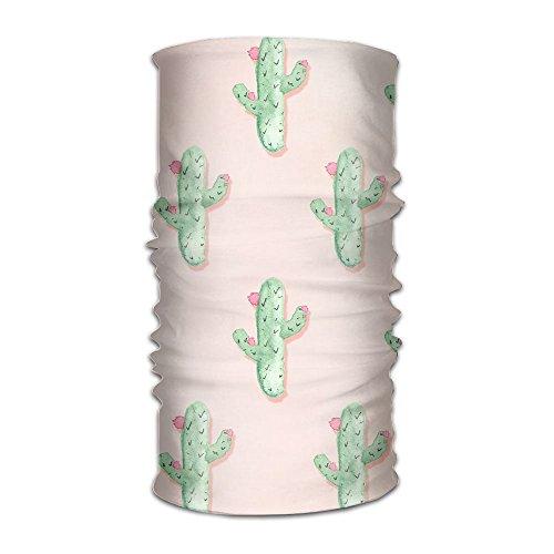 Owen Pullman Multifunctional Headwear Mini Cactus Head Wrap Elastic Turban Sport Headband Outdoor Sweatband