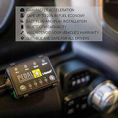 Pedal Commander Throttle Response Controller PC64 Bluetooth for Chevrolet Camaro 2009-2015 (Fits All Trim Levels; LS, LT, SS, Z/28, ZL1): Automotive