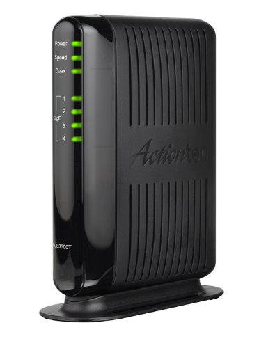 ACTIONTEC Home Theater Coax Network Adapter (ECB3500T01) by Actiontec