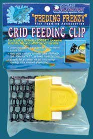 Feeding Frenzy Feeding Station - Ocean Nutrition (Salt Creek) AON25105 1-Pack Feeding Frenzy Grid Feeder Clip for Fishes
