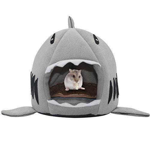 SCIROKKO Small Pet Animals Bed – Cotton Warm Nest Mini House – for Dutch Pig Hamster Hedgehog Rat Chinchilla Guinea Habitat