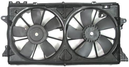 Depo 335-55060-000 Radiator//Air Conditioner Fan Assembly FORD F-150 4.6L 24V//5.4L 10//3.5//3.7//5.0//6.2L 11// F-150 SVT RAPTOR 10-11// EXPDTIN 10-11// LN NAVGATR 10-11 ASSEMBLY