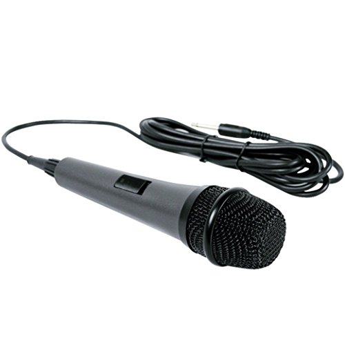 Dynamic Microphone Singing Machine SMM-205 Unidirectional with 10 Ft. Cord (Certified Refurbished) - The Singing Machine Microphone