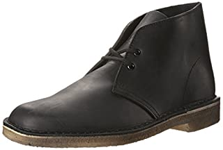 Clarks Men's Desert Chukka Boot, Black Smooth, 7.5 Medium US (B00PJ14PTM) | Amazon price tracker / tracking, Amazon price history charts, Amazon price watches, Amazon price drop alerts