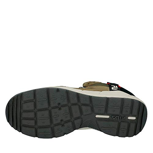1010498 Mid Fila In 50k Verde Pelle Uomo Norton Sneakers Scarpe xxq81gf