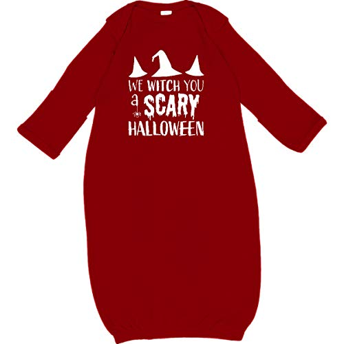 inktastic - We Witch You a Scary Halloween Newborn Layette Red 32025 for $<!--$22.99-->