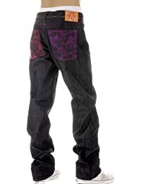 MAD Patch Fuscia and Violet Jeans REDM3142