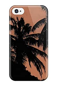 Fashion KCvogQH3507AqFxX Case Cover For Iphone 4/4s(paysage Palmiers)