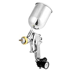 Neiko 31215A HVLP Gravity Feed Air Spray Gun | 1.7mm Nozzle Size | 600cc Aluminum Cup