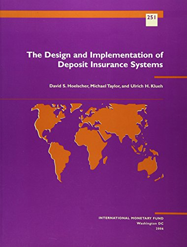 Download The Design and Implantation of Deposit Insurance Systems (Occaisional Paper) Pdf