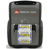 Datamax RL3-DP-50100010 RL3E Portable Label Printer, Direct Thermal, Linerless, 64 MB/128 MB, Serial/USB, E-Charge, LCD Screen