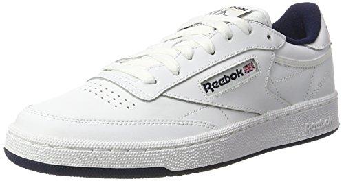 Reebok Mens Club C 85 Sneaker Di Moda Int-bianco / Verde