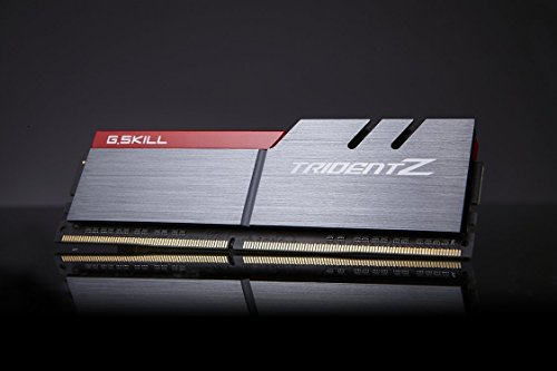 GSKILL 8GB (2 x 4GB) TridentZ Series DDR4 PC425600 3200MHz for Intel Z170  Platform Intel X99 Platform Desktop Memory Model F43200C16D8GTZB