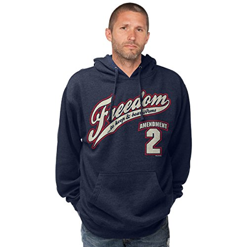 de 62 Navy Heather con Navy 7 capucha Sudadera UnxUZF