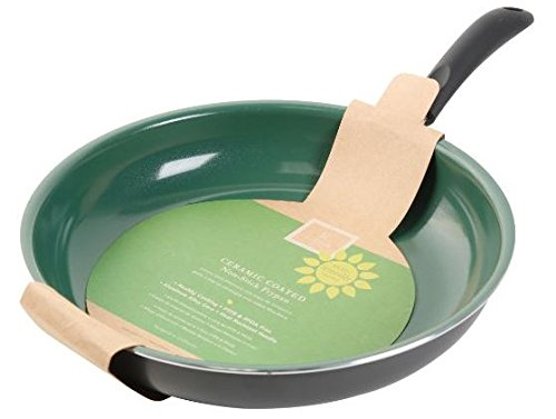 Bakelite Non Stick Fry Pan (Gibson Home 62409.01 Hummington  8-Inch Ceramic Non-Stick Fry Pan, Green )