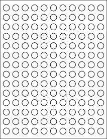 - Dice Stickers 1/2in Round 154 Stickers Wondertrail WONST5EA1