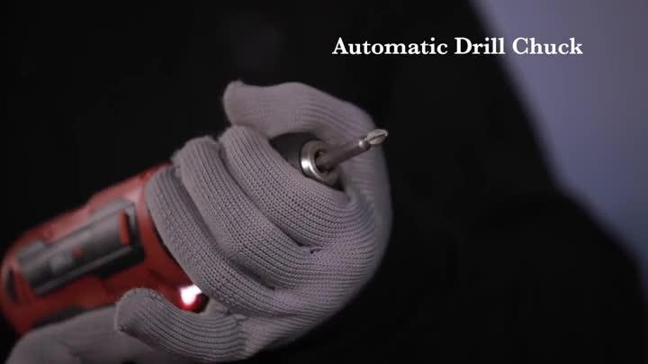 iBELL Cordless Drill Driver CD12-74, 12-Volts, 2 Battery+BMC Box 2